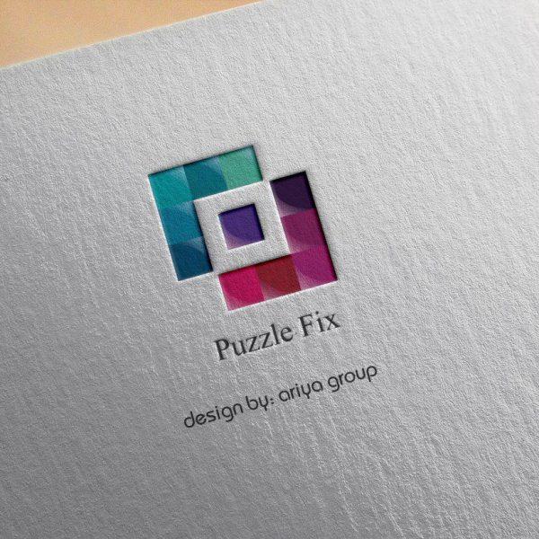 لوگو فروشگاه اینترنتی پازل فیکس